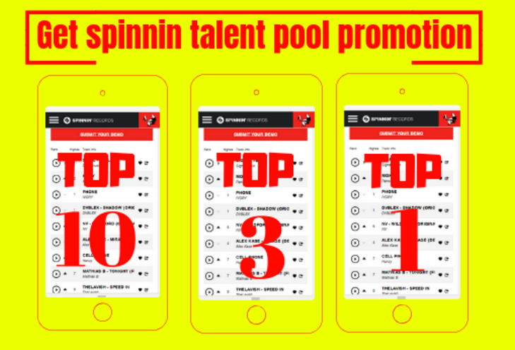 Top One Track Rank Your Spinnin Records Talent Pool Votes