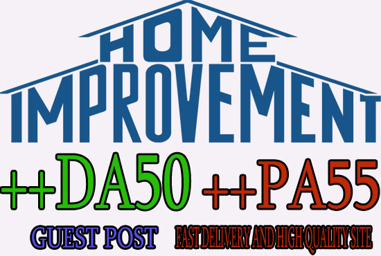 do guest post on home improvement blogs