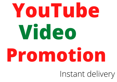 YouTube video promotion & social media marketing instant delivery