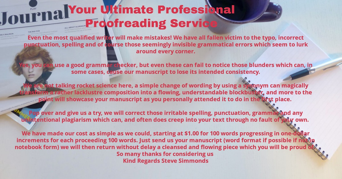 Your Ultimate Professional Proofreading Service
