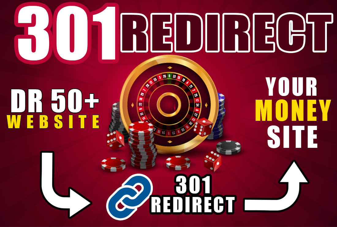 301 Redirect from Casino,  Poker,  Judi Bola Blog Sites Get Authority backlink