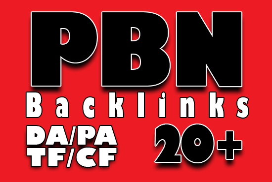 15 Home page Permanent Do-follow PBN backlinks DA PA TF CF 20+