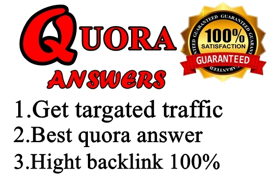 Real 15 Quora Answer on your link with Different Account