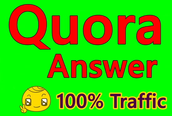 Promote your Niche Relevant 8 Quora Answer for targeted traffic