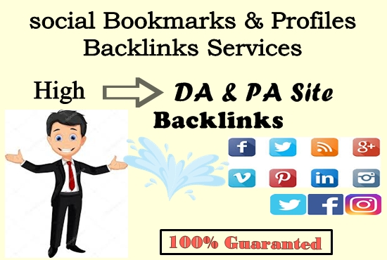 Guaranteed 25 Manual social Bookmarks from High PR site backlink