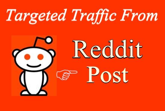Get 5 Reddit post on your link with different subreddit