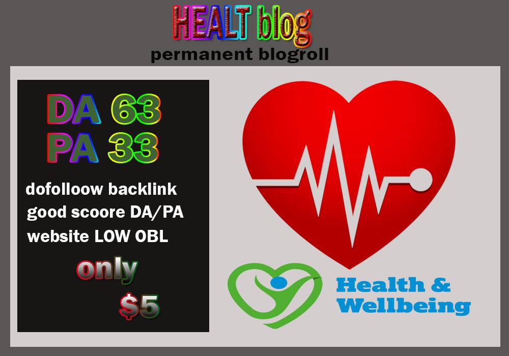 Link da63x7 site health blogroll permanent