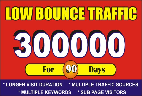 Google Boost Website with Organic Targeted USA Web Traffic for 90 Days
