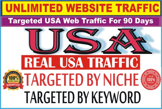 I Will Boost Google,  Website Ranking With Targeted USA Web Traffic For 90 Days