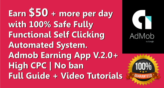 I'll Create High CPC Admob Android App Within 4 Hours