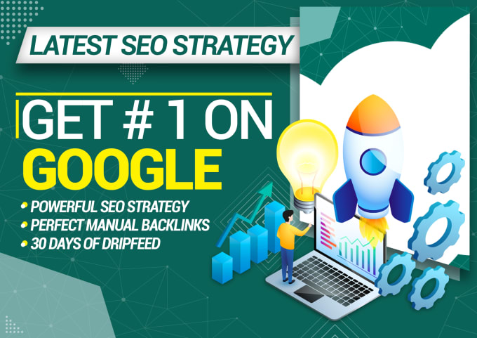 Monthly off page SEO for any website ranking