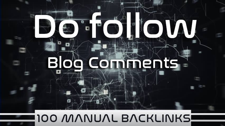 I Will Provide 2,500 Dofollow Blog Comments in High Authority Backlinks