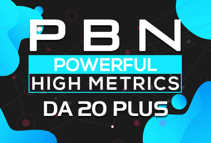 Get Powerful 50 Permanent Homepage PBN Backlinks on DA 30 Plus to Powerful Rank Booster
