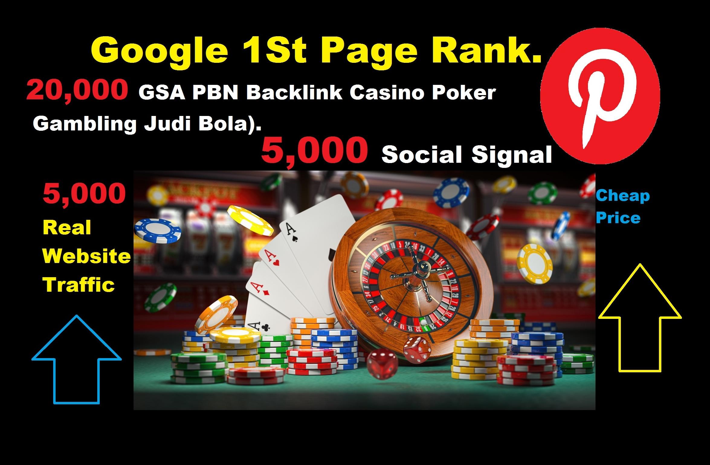 Google Rank Pinterest Social Signal Instagram Traffic Backlink Casino Poker Gambling Online Bet
