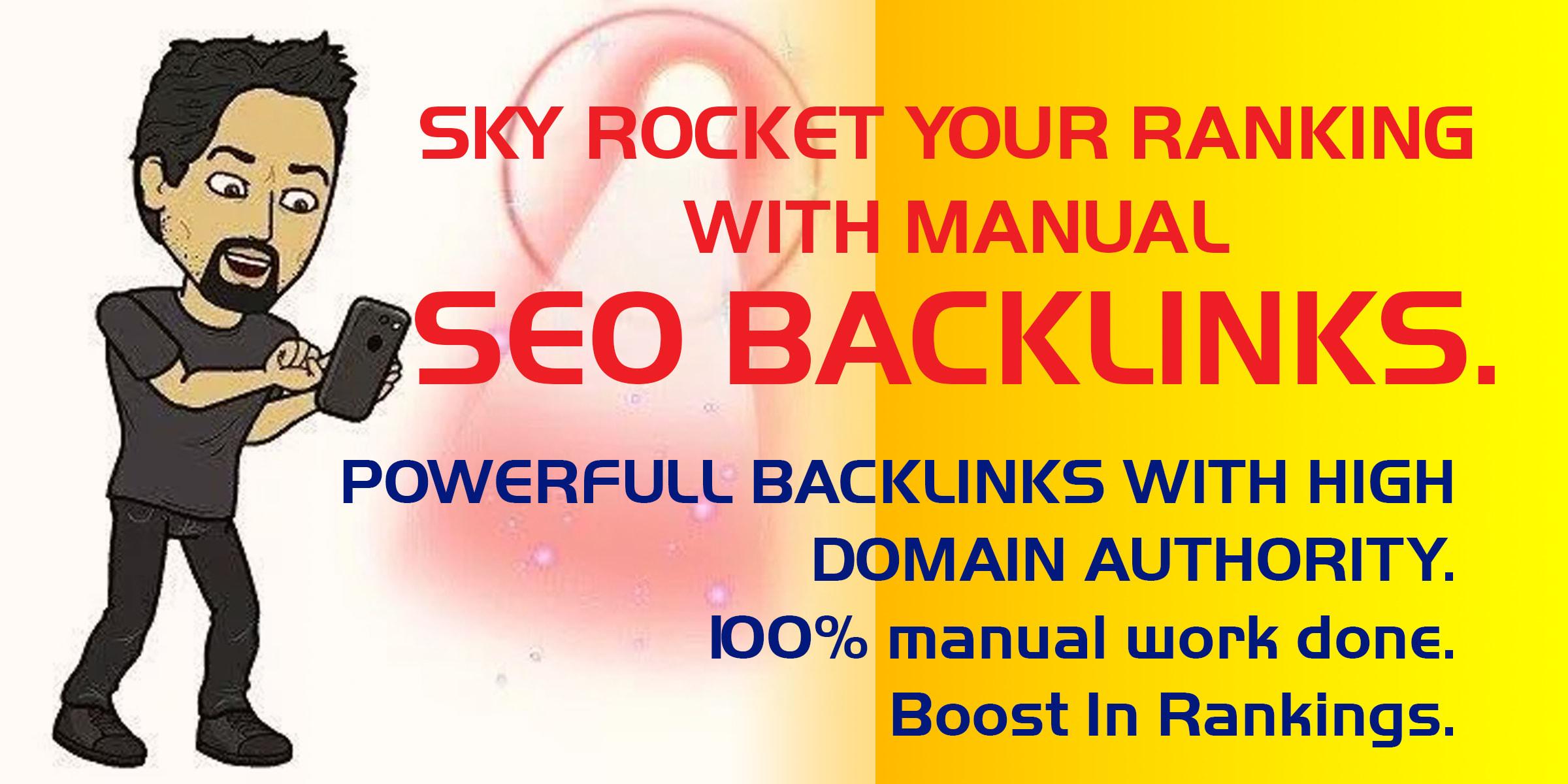 do 40 manual dofollow blog comment backlinks