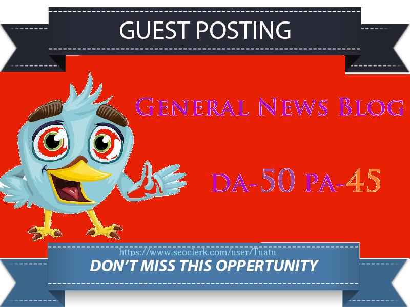 Guest Post On Tech Business DA50 Authority Website