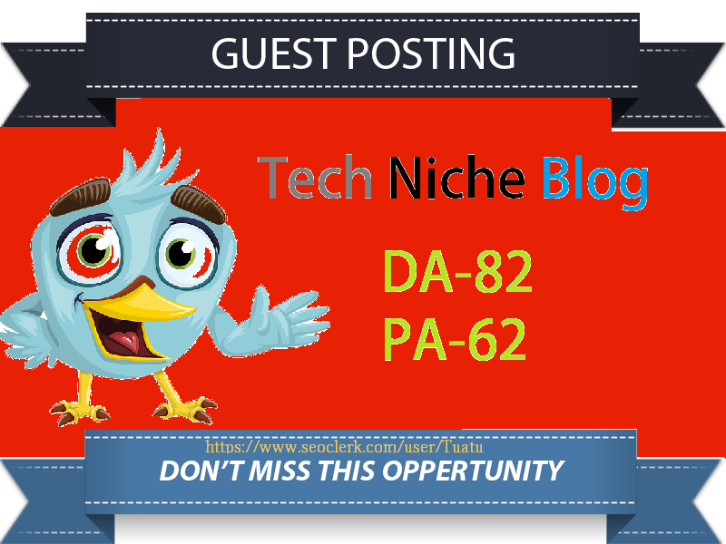 Guest Post On Tech Website DA82,