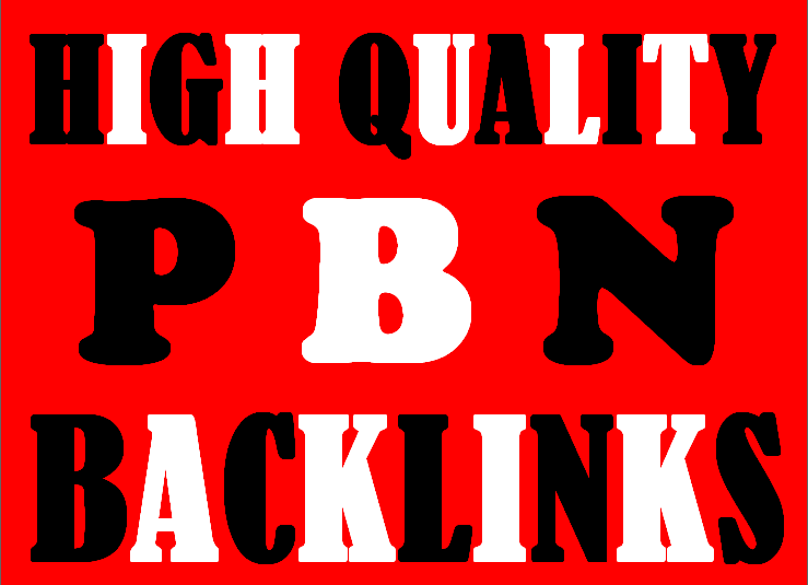 I WILL MAKE 50 HOMEPAGE PBN BACKLINKS to rank your website