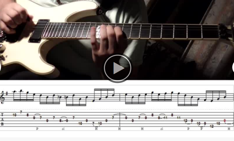 Rranscribe your guitar or bass to tab and sheet music