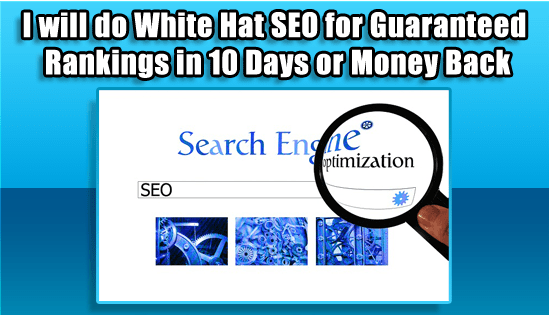 I'll Do White Hat SEO For Guaranteed Rankings in 10 Days