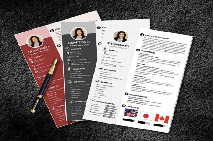 Do professional CV/Resume design