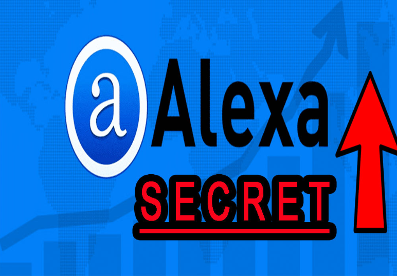the secret For Boost your ranking on Google Alexa