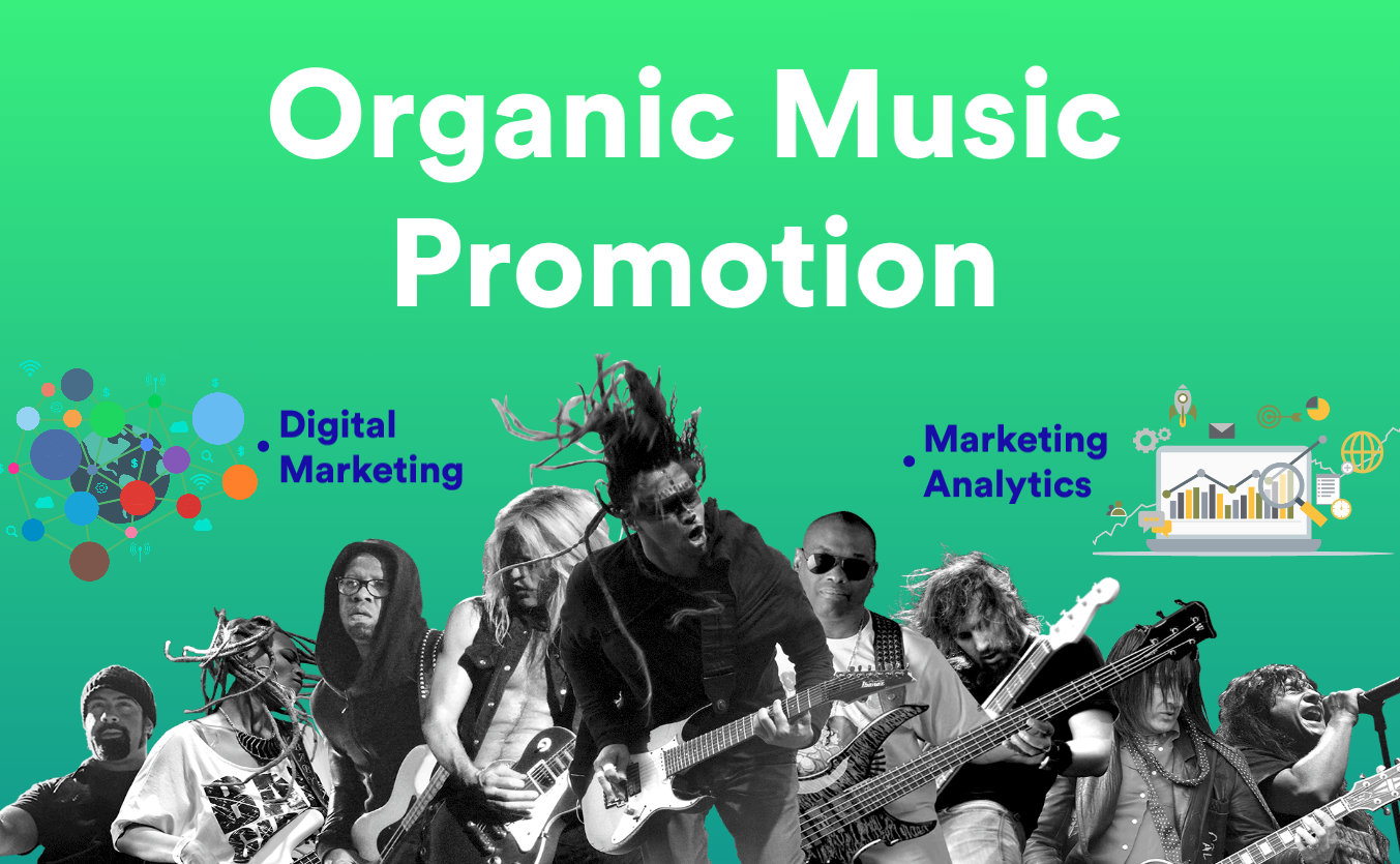 Organic Music Promotion for Your Song & Artist Profile