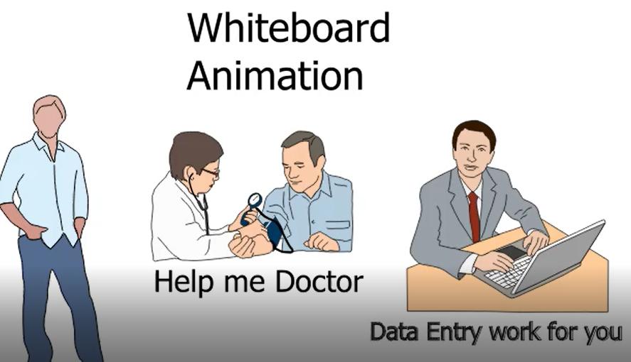 Design whiteboard ex plainer Animation