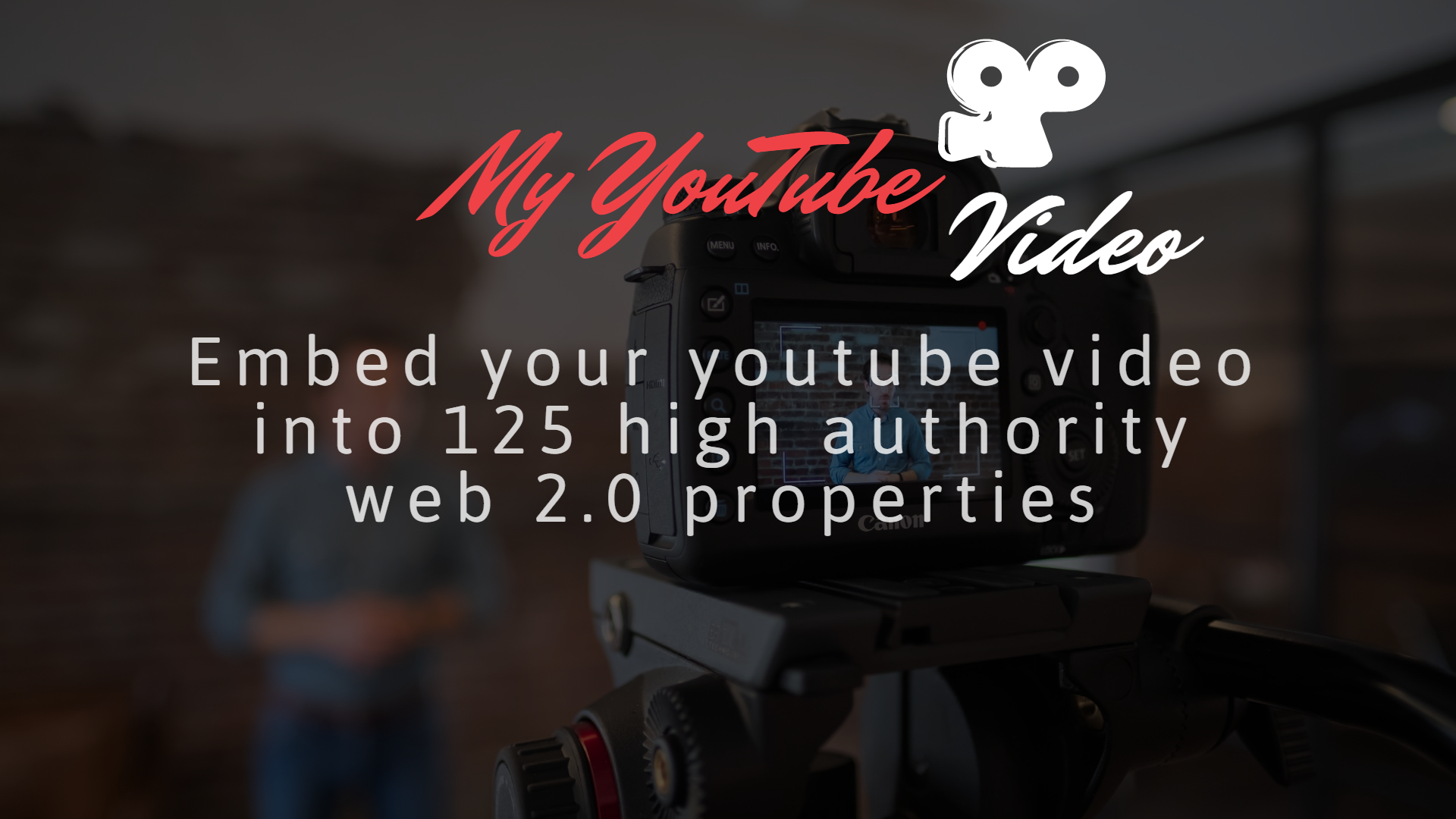 I will embed your YouTube video into 125 High Authority web 2.0 properties