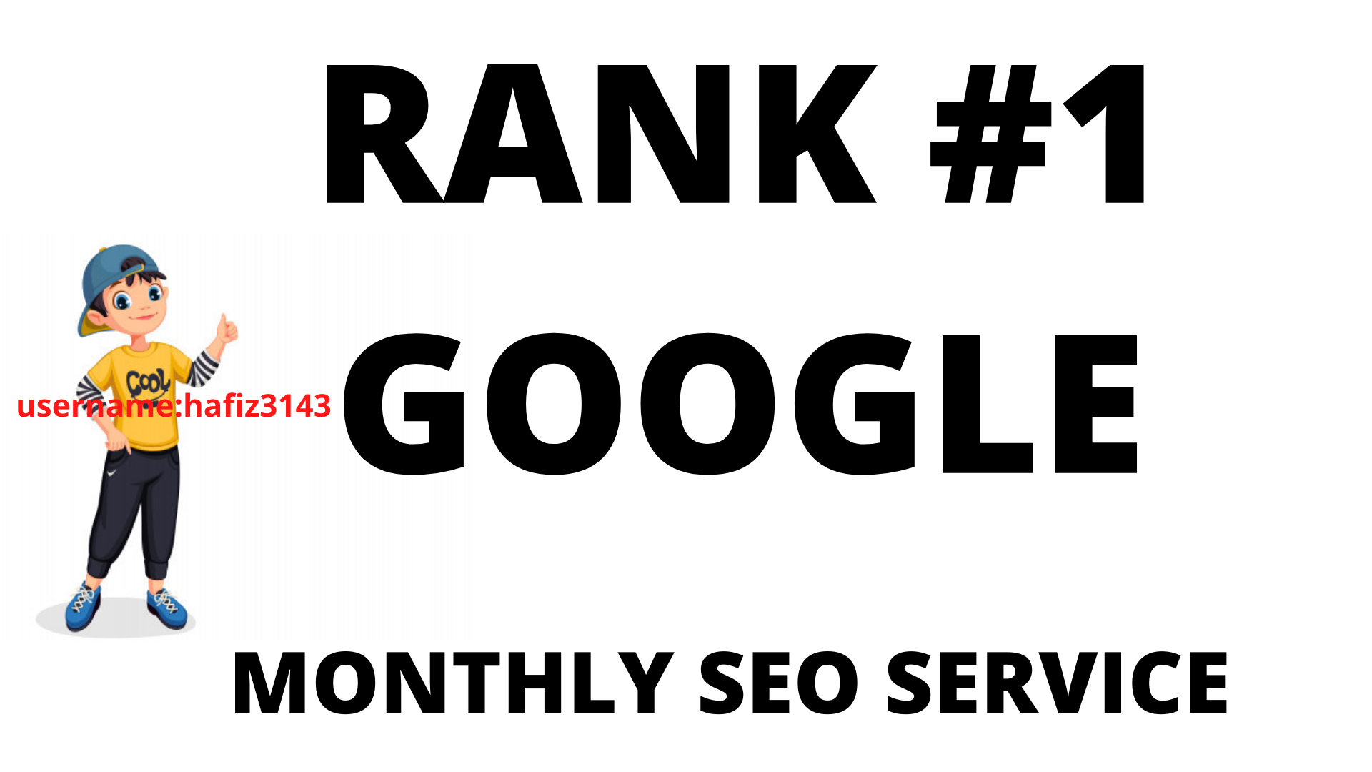 I will do Monthly SEO Backlinks service for 1st Page Ranking