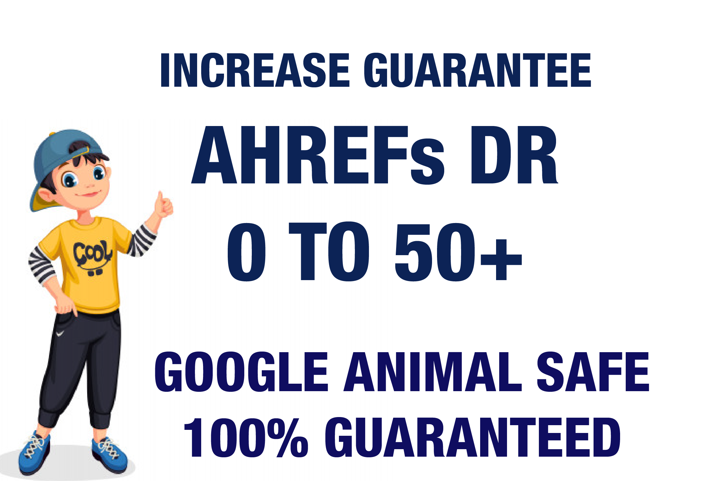 I will Increase Ahrefs DR 0 To 50 Plus Guaranteed