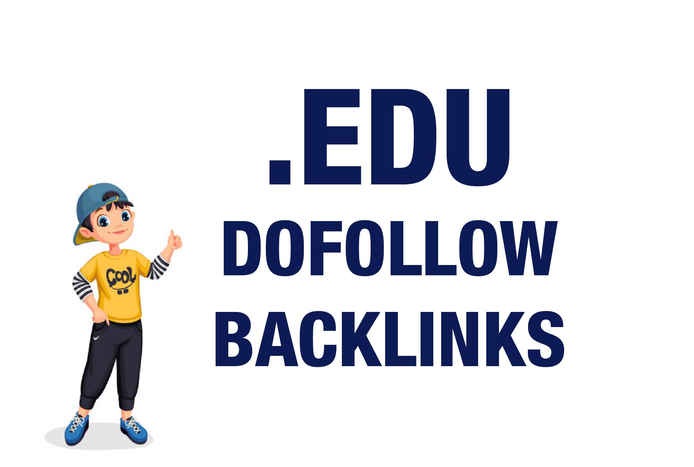 3 Do-follow Strong Edu Contextual High Pr SEO Authority Backlinks Its Not Profile Links