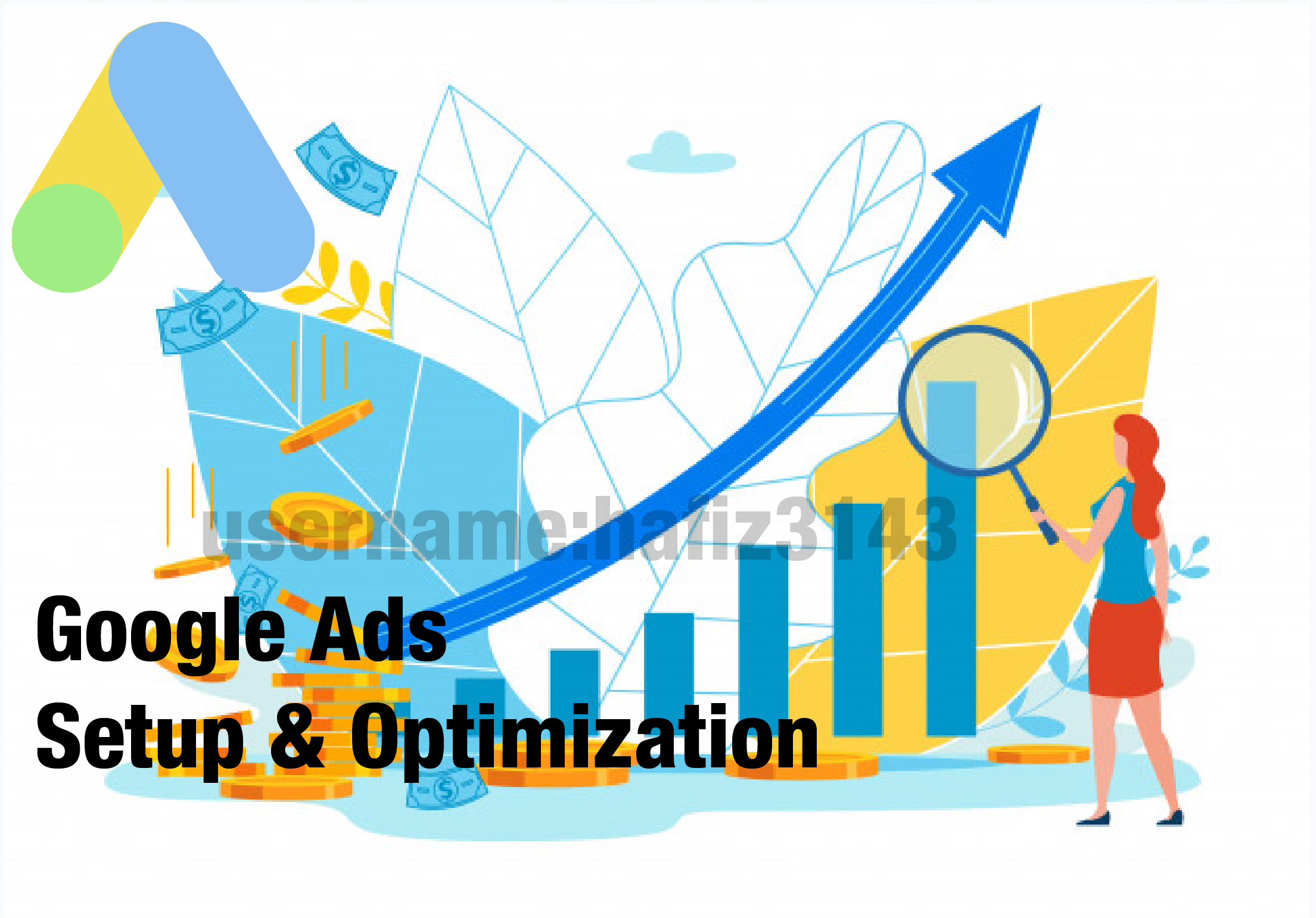 I will set up a google ads for your YouTube Promotion
