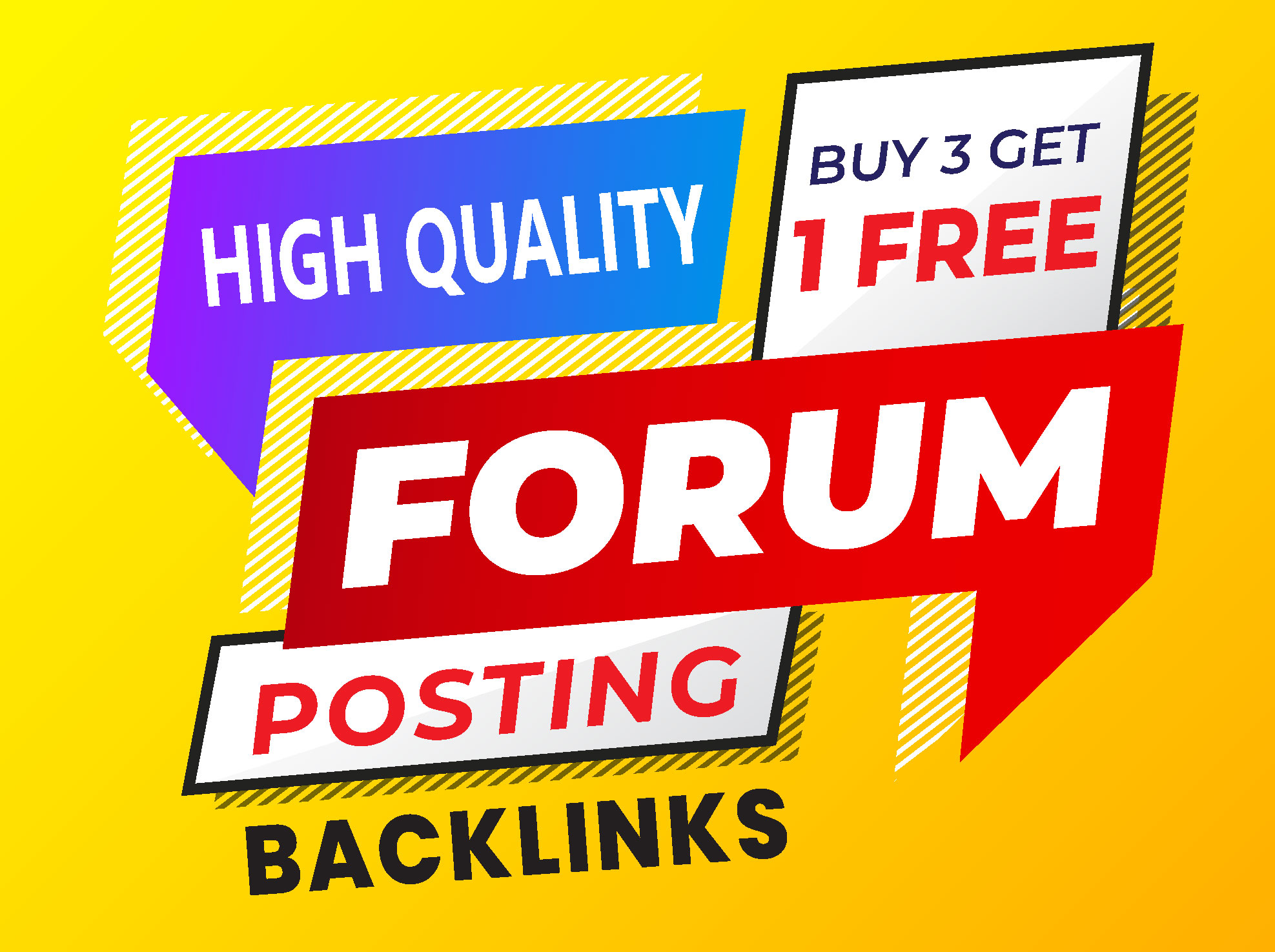 I will do 45+ forum posting,  forum backlinks,  and SEO Services