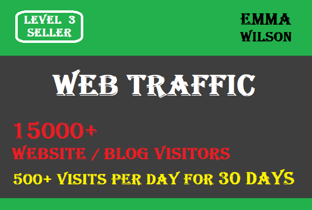 Drive Organic and Targeted Traffic to your Website or Blog