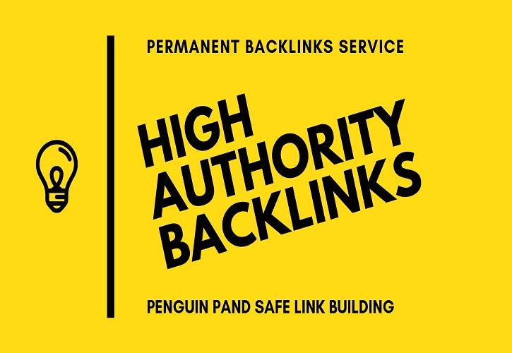 I will do 40 high authority seo backlinks