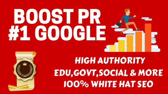 Boost Your PR Number 1 in Google with high authority back-links by SEO Shark