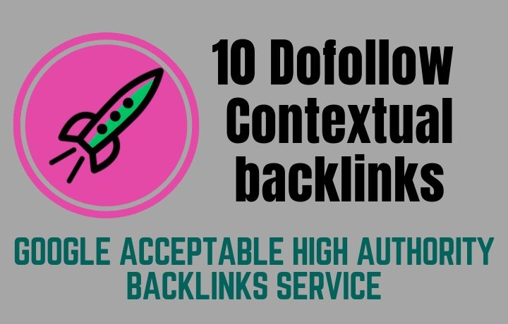 V2 Backlinks Service,  10 Dofollow Manual Web 2.0 Contextual backlinks