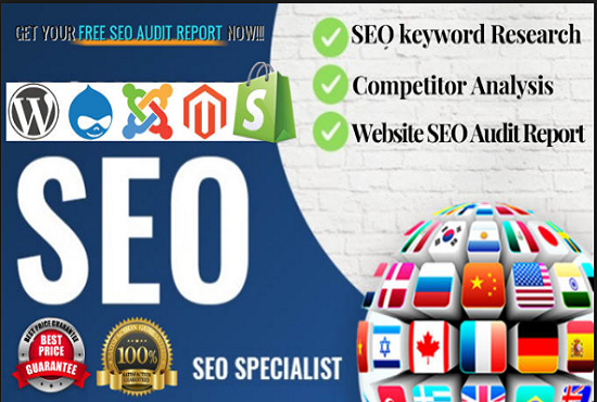 I will keyword research for your Amazon Product and website off page seo