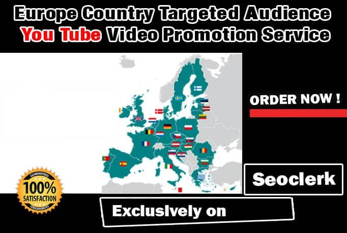 Promote your YouTube Page and Videos with Targeted Audience