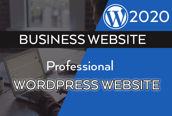 I will create custom WordPress website design for your business in any language