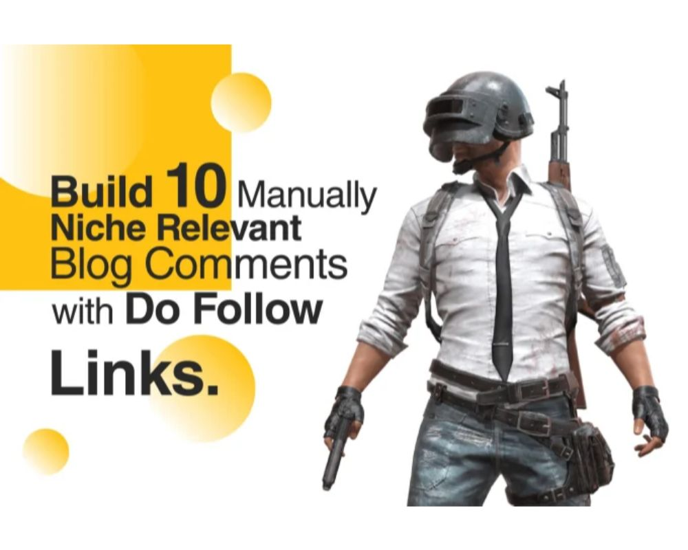 I will build 10 manually niche relevant blog comments with do follow link
