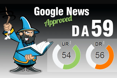 I will do guest post on my google news approved site DA 56 dofolow parmanent post