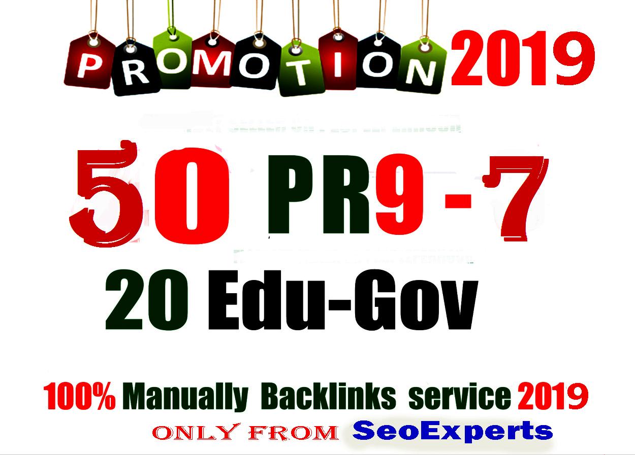 50 PR9 DA 80100 + 20 EDU  GOV Highpr Safe Authority Backlinks To Fire Your Google Ranking