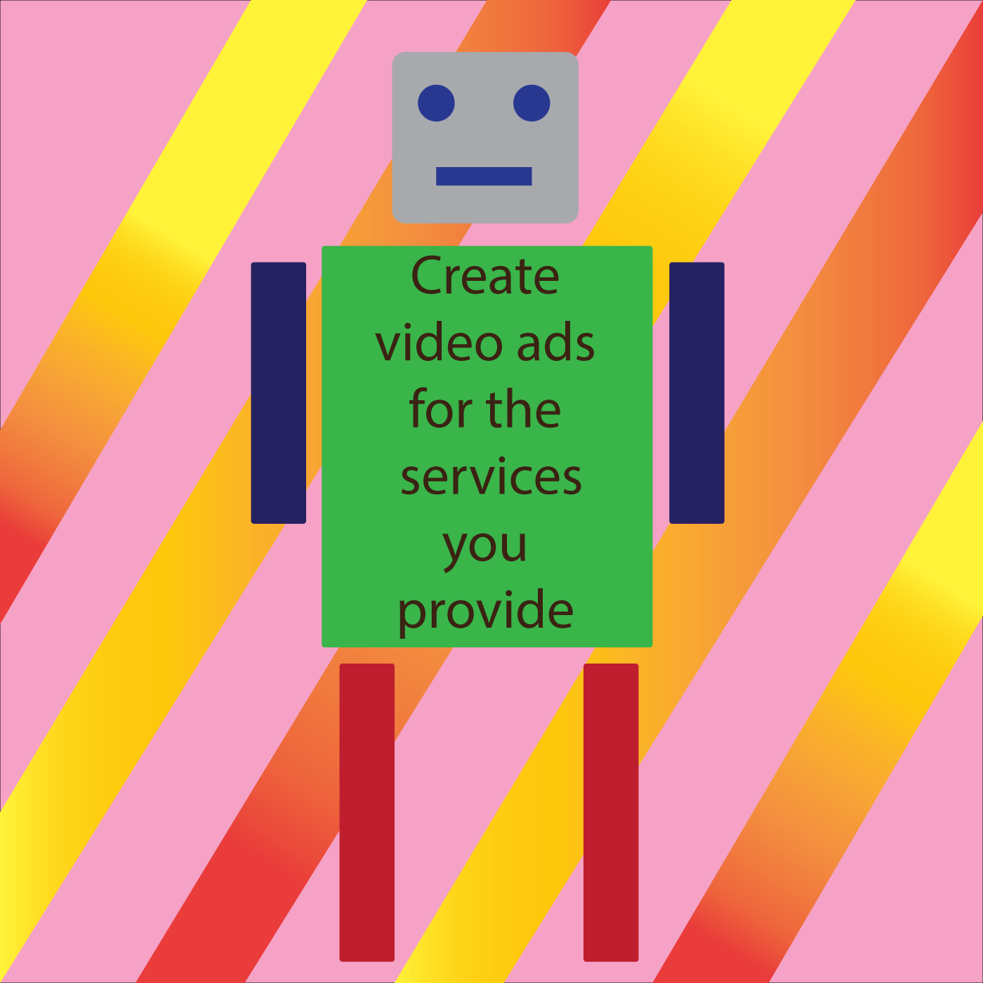 Create animated video ads for your service