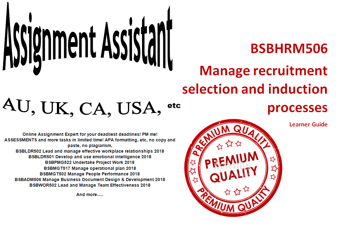 I will write your assignment au uk ca usa
