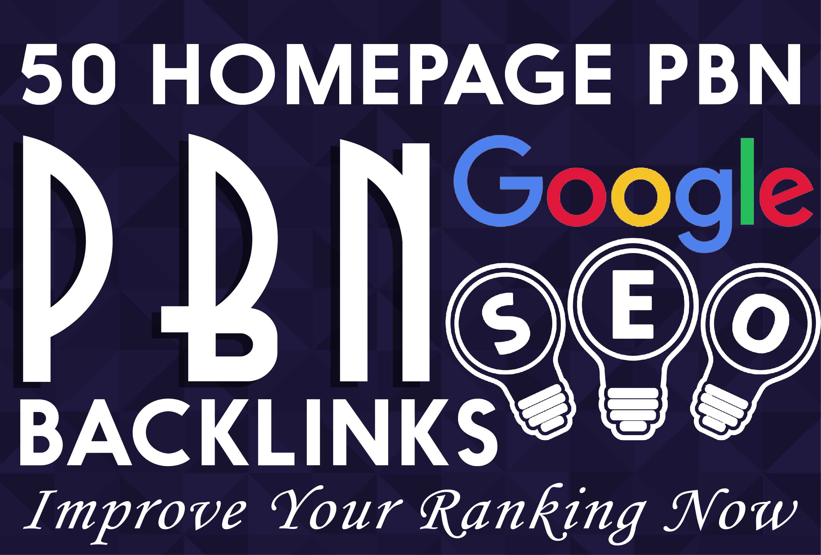 Do 50 Indexed High Tf Cf Permanent Homepage Pbn Backlinks