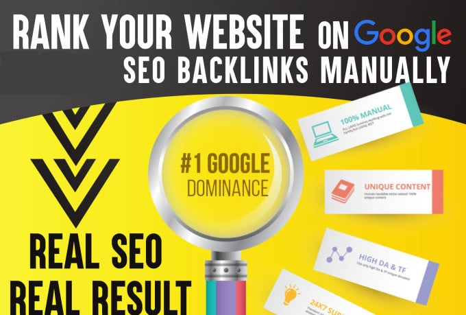 Help To Rank Your Website On TOP Google Rankings With Whitehat Backlinks package