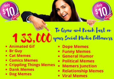I will give you 133,000 dank, spicy, Viral, funny, dope memes with Bonus Memes Software