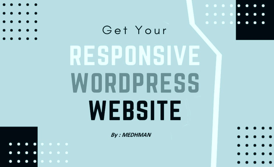I will do responsive web design and build a complete website